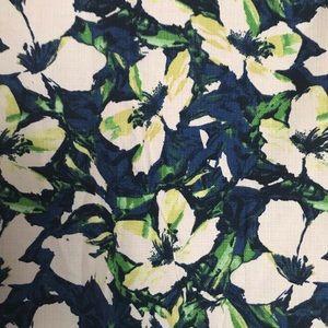 J. Crew Skirts - J Crew Floral Pencil Skirt